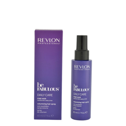 Revlon Be Fabulous Daily Care Fine hair Volumizing hair spray 80ml - spray volumen cabello fino