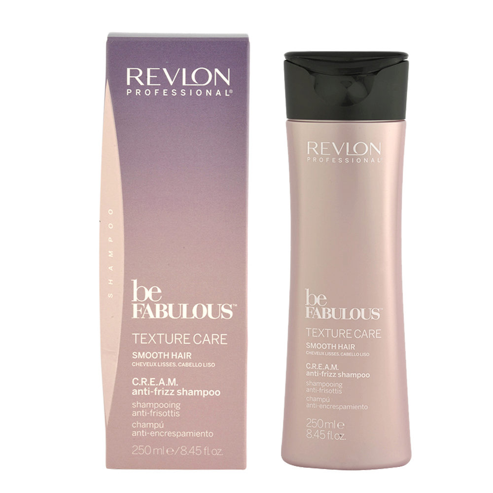 Revlon Be Fabulous Smooth hair Cream Anti-frizz Shampoo 250ml - champú para cabello lacio