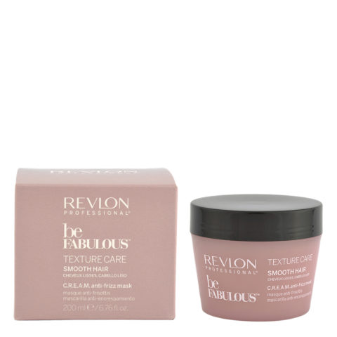 Revlon Be Fabulous Smooth hair Cream Anti-frizz Mask 200ml - mascarilla anti-frizz pelo lacio