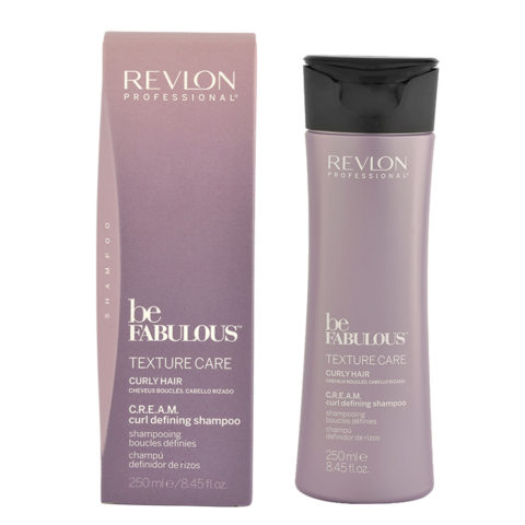 Revlon Be Fabulous Curly hair Cream Curl defining Shampoo 250ml - champú definición pelo rizado