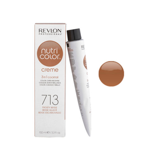 Revlon Nutri Color Creme 713 Beige escharchado 100ml - mascara color