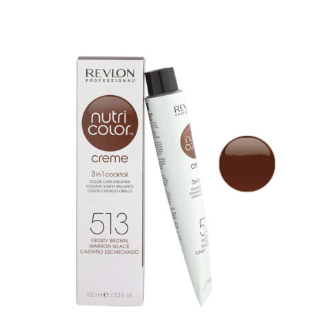 Revlon Nutri Color Creme 513 Marron glacé 100ml - Mascara Color