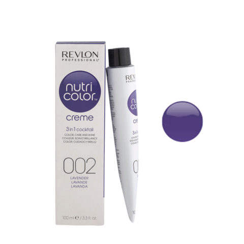 Revlon Nutri Color Creme 002 Lavanda 100ml - mascara color
