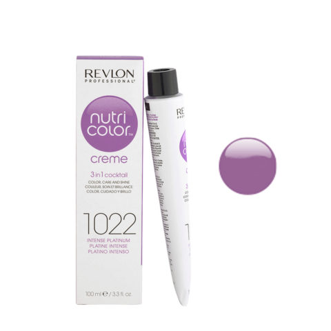 Revlon Nutri Color Creme 1022 Platino intenso 100ml - mascara color