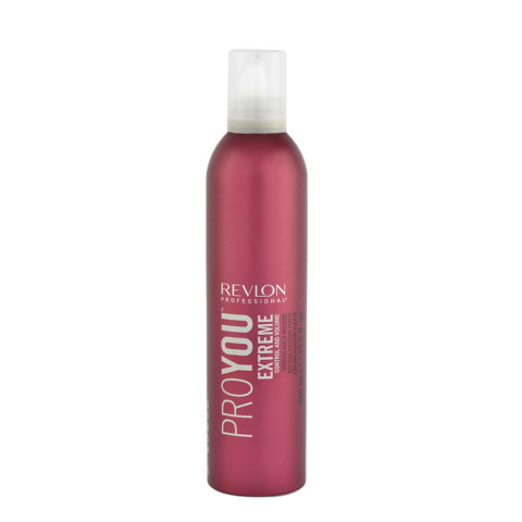 Revlon Pro You Extreme Control and Volume Strong hold Mousse 400ml - espuma fuerte