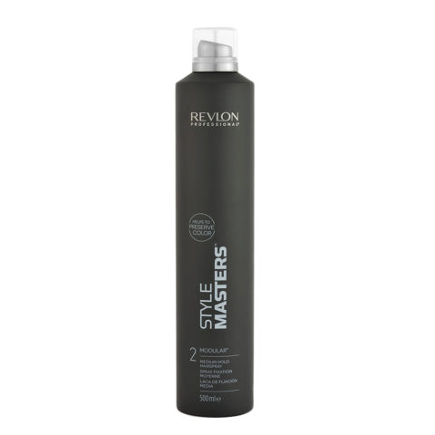 Revlon Style Masters The Must haves 2 Modular 500ml - laca de fijación media