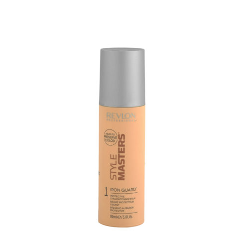 Revlon Style Masters Smooth 1 Iron Guard 150ml - bálsamo alisador protector
