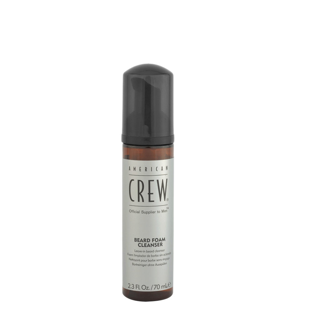 American Crew Beard Foam Cleanser 70ml - limpiador de barba sin aclarado