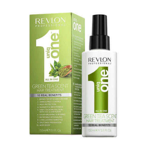 Uniq one All in one hair treatment Spray Green tea 150ml - tratamiento todo en 1