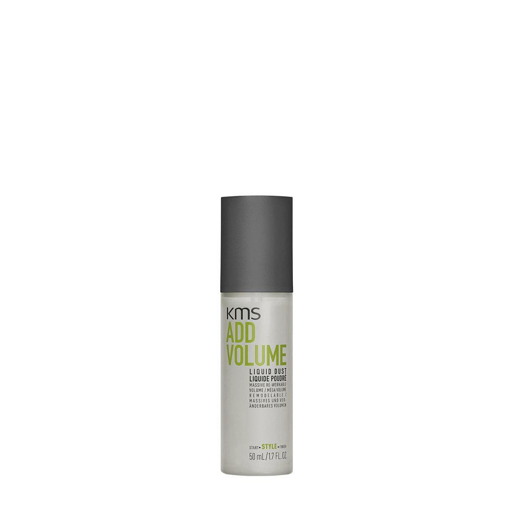 KMS Add Volume Liquid Dust 50ml - Polvo Voluminizador Cabello