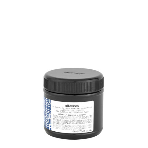 Davines Alchemic Conditioner Silver 250ml - Acondicionador coloreado para cabello cano
