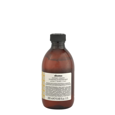 Davines Alchemic Shampoo Golden 280ml - champú para cabello rubio-dorado