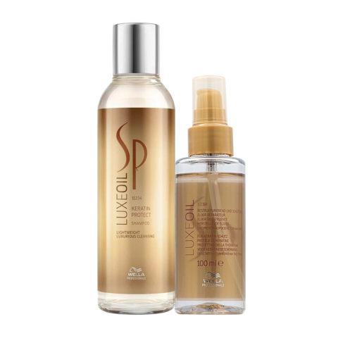 Wella SP Luxe Oil Keratine shampoo 250ml Luxe Oil Elixir 100ml