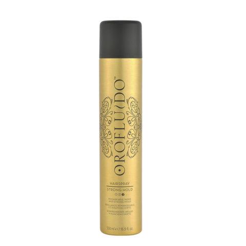 Orofluido Hairspray Strong Hold 500ml - laca fijación fuerte