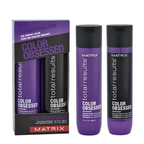 Matrix Total Results Color obsessed Kit Shampoo 300ml Conditioner 300ml