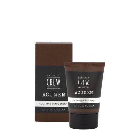 American Crew Acumen Soothing Shave Cream 100ml - Crema De Afeitar Hidratante