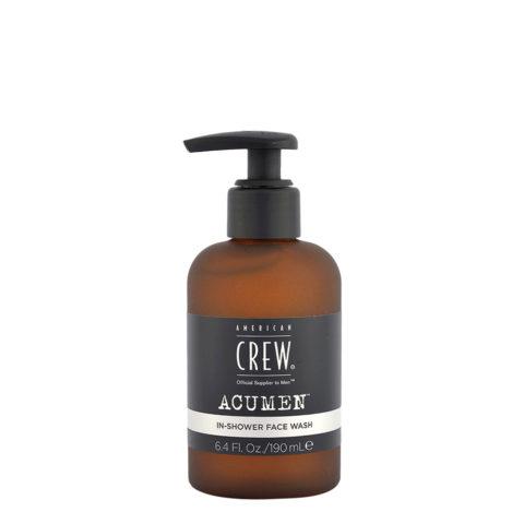 American Crew Acumen In-Shower Face Wash 190ml - Limpiador Facial