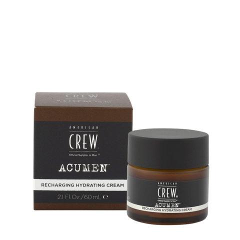 American Crew Acumen Recharging Hydrating Cream 60ml - Crema Revitalizante Hidratante