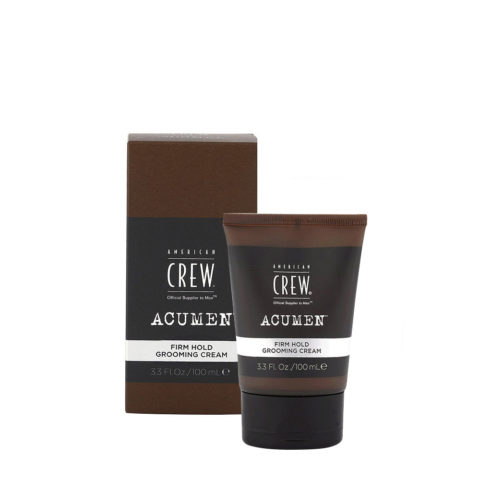 American Crew Acumen Firm Hold Grooming Cream 100ml - Pomada Pelo