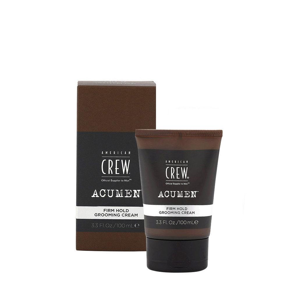 American Crew Acumen Firm Hold Grooming Cream 100ml - Pomada Pelo