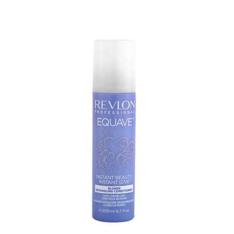 Revlon Equave Blonde Detangling Conditioner 200ml - acondicionador desenredante cabello rubio