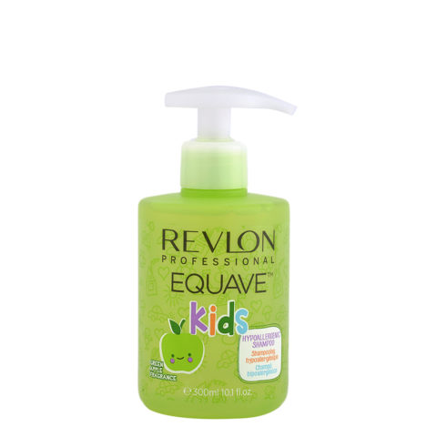 Revlon Equave Kids Hypoallergenic Shampoo Green Apple 300ml - champú hipoalérgenico para niños
