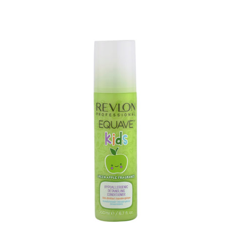 Revlon Equave Kids Green Apple Hypoallergenic Detangling conditioner 200ml - acondicionador hipoalergénico desenredante