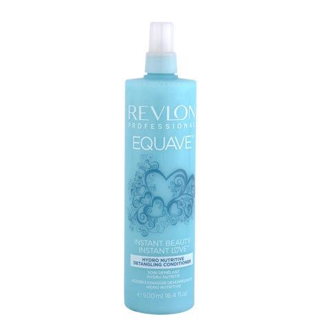 Revlon Equave Hydro nutritive Detangling conditioner 500ml - acondicionador desenredante hidro nutritivo