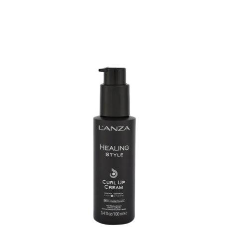 L' Anza Healing Style Curl Up Cream 100ml