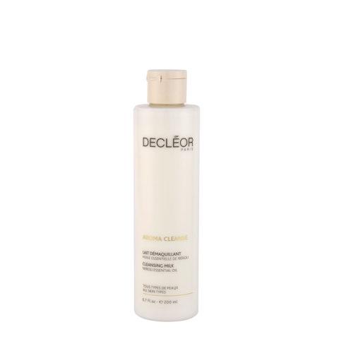 Decléor Aroma Cleanse Lait Démaquillant Essentiel 200ml - leche limpiadora para todo tipo de pieles