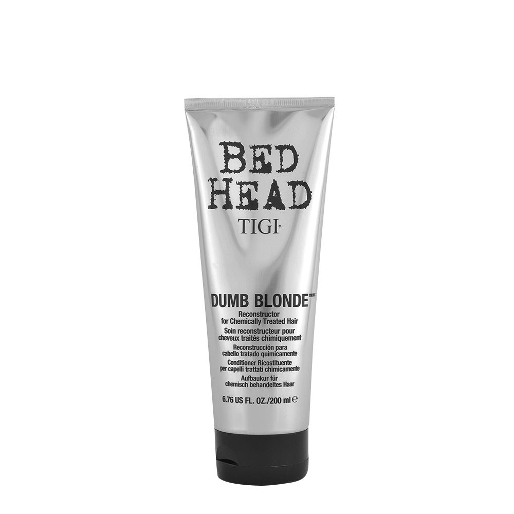 Tigi Bed Head Dumb Blonde Reconstructor 200ml - acondicionador cabello tratado rubio