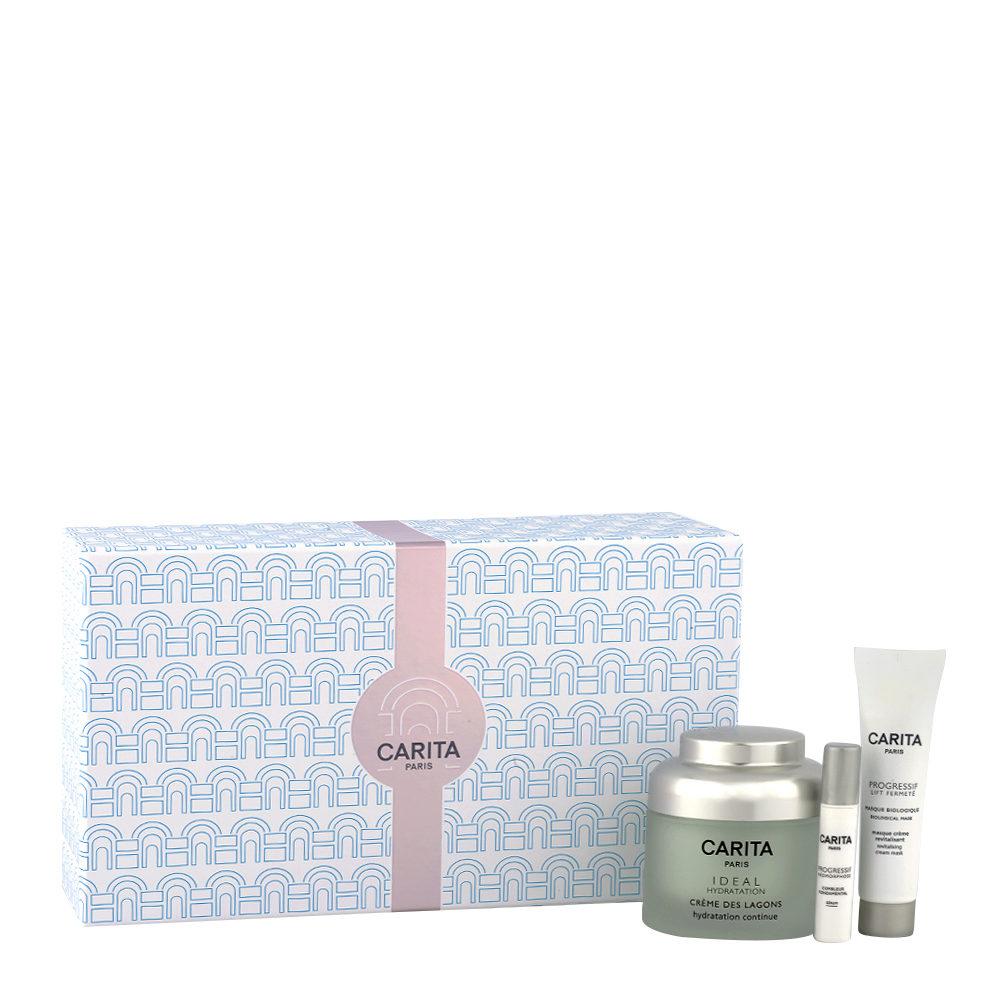 Carita Skincare kit Ideal Hydratation - Retroceda en el tiempo