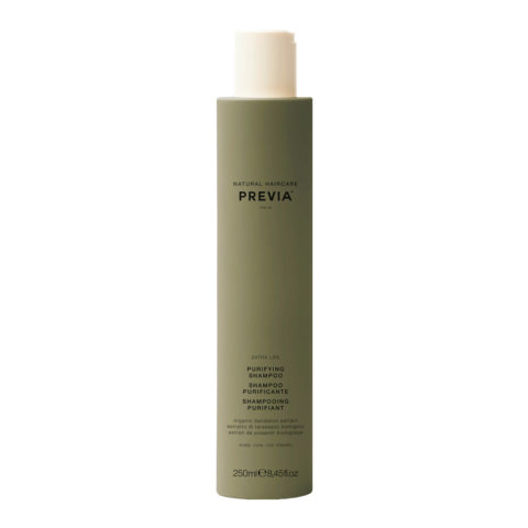 Previa Organic Tea Tree Oil & Green Clay Purifying Shampoo 300ml  - argilla champù
