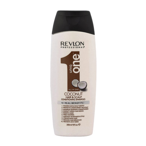 Uniq One Coconut Hair and scalp Conditioning shampoo 300ml - champù y acondicionador