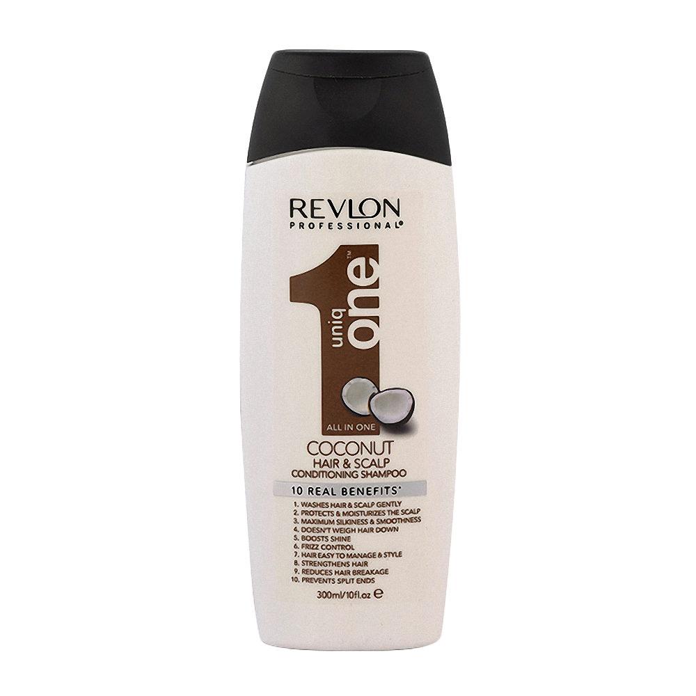 Uniq One Coconut Hair and scalp Conditioning shampoo 300ml - champù y acondicionador
