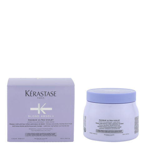 Kerastase Blond Absolu Masque ultra violet 500ml - Màscara anti amarillo para cabello rubio o gris