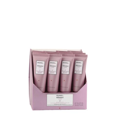 Goldwell Kerasilk Color Brilliance Sealer vials 12x22ml - Ampollas Cabellos Coloreado