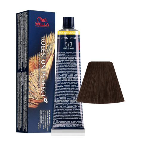 5/3 Castaño Claro Dorado Wella Koleston perfect Me+ Rich Naturals 60ml