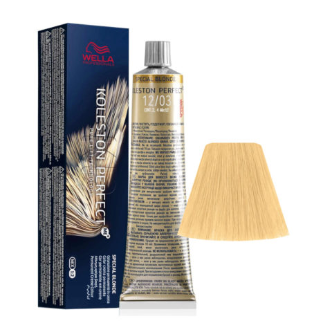12/03 Superaclarante Rubio Natural Dorado Wella Koleston perfect Me+ Special Blondes 60ml