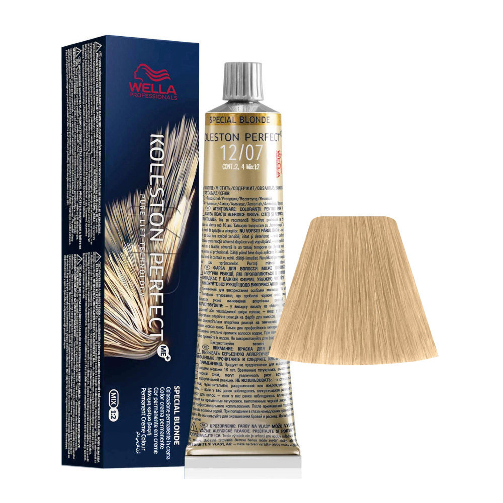 12/07 Superaclarante Rubio Natural Marròn Wella Koleston perfect Me+ Special Blondes 60ml