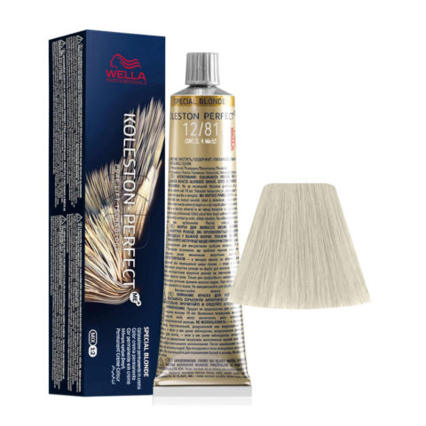 12/81 Supereclarante Rubio Perla Ceniza Wella Koleston perfect Special Blondes 60ml