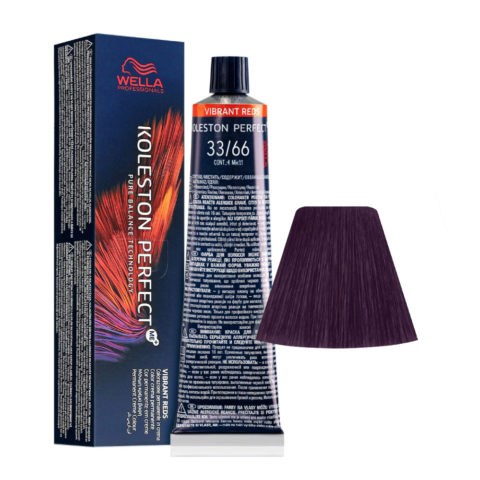 33/66 Castaño Oscuro Intenso Violeta Intenso Wella Koleston perfect Me+ Vibrant Reds 60ml