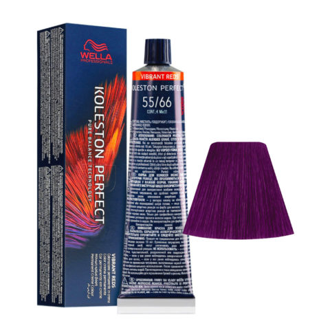 55/66 Castaño Claro Intenso Violeta Intenso Wella Koleston perfect Me+ Vibrant Reds 60ml