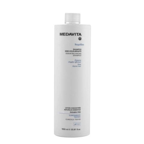 Medavita Cute Requilibre Sebum-balancing shampoo pH 5.5  1000ml Champú sebo-equilibrador