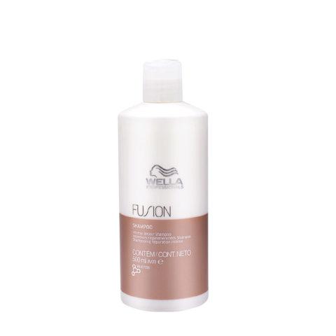 Wella Fusion Shampoo 500ml - champú de reparación