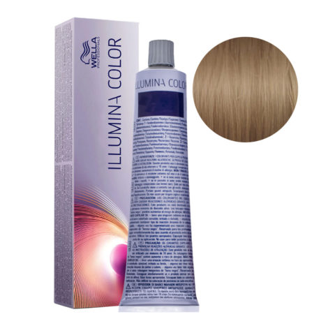 7/31 Rubio medio dorado ceniza Wella Illumina Color 60ml