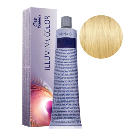 10/38 Rubio super claro dorado perla Wella Illumina Color 60ml