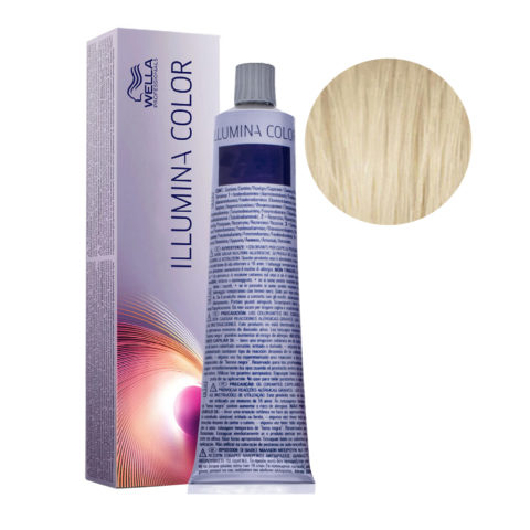 10/93 Rubio super claro dorado ceniza Wella Illumina Color 60ml