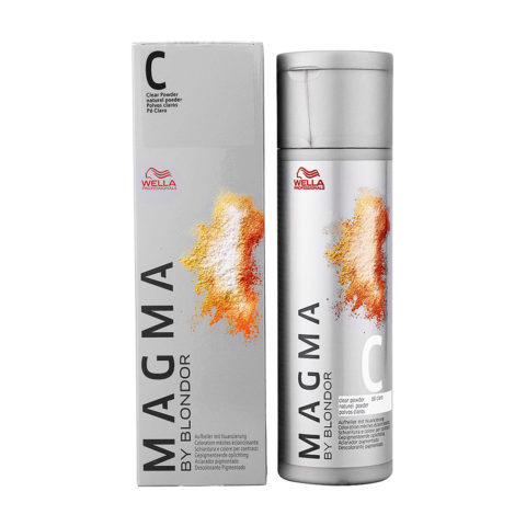 C Clear Powder neutro Wella Magma 120gr