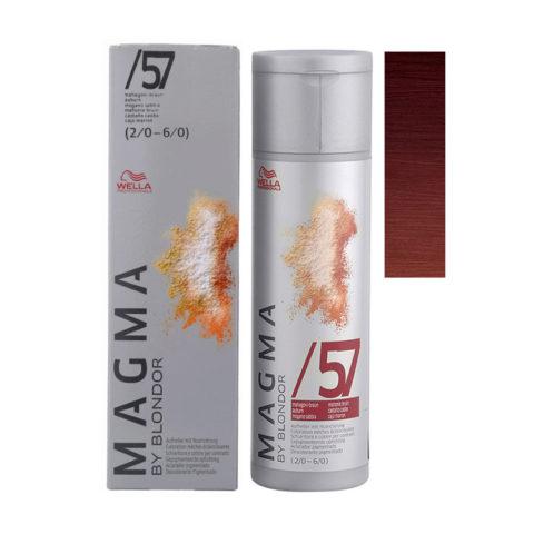 /57 Castano caoba Wella Magma 120gr